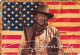 John Wayne American Flag metal sign    (nm)